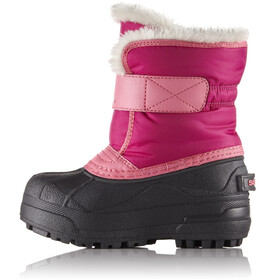 Sorel Kids Snow Commander Boots Tropic Pink/Deep Blush